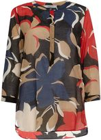 Marella Incerto blouse with bold floral print