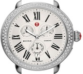 Michele Serein Diamond Silver/Steel Watch Head Watches