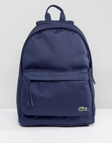 Lacoste Logo Backpack Navy