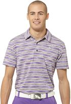 Puma Space Stripe Golf Polo Shirt