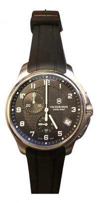 Victorinox Black Steel Watches