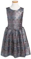Milly Minis Girl's Natalia Sleeveless Dress