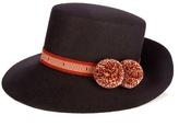 Yosuzi Inga fur-felt hat