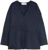 Chloé Iconic Oversized Cashmere Sweater - Navy