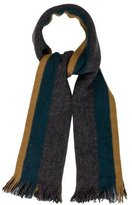 Paul Smith Wool Striped Scarf