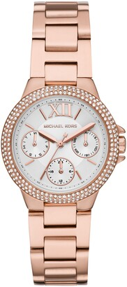Michael Kors Camille Pave Bracelet Watch, 33mm