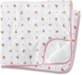 Ralph Lauren Blanket, Baby Girls Reversible Bear Printed Blanket