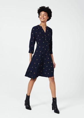 Hobbs Jayde 3/4 Sleeve Dress