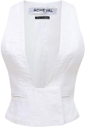 ÀCHEVAL PAMPA Gardel Linen Vest