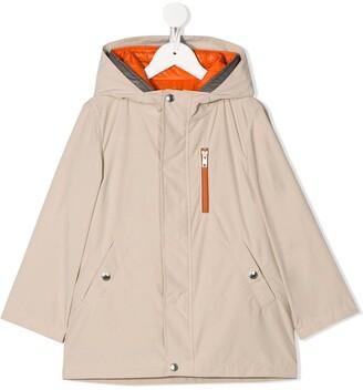 BRUNELLO CUCINELLI KIDS Reversible Layered Coat