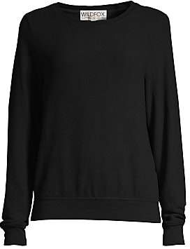 Wildfox Couture Women's Basic Crewneck Sweatshirt