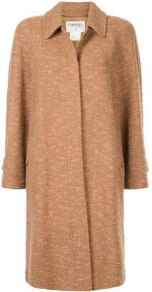Chanel Pre Owned 1997 Loose Fit Midi Coat