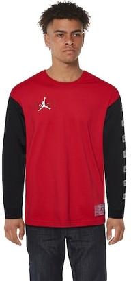 Jordan Retro 11 Long Sleeve T-Shirt - Gym Red
