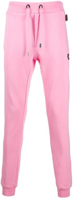 Philipp Plein Pink Paradise track trousers