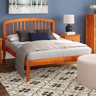 Red Barrel Studioâ® Wrington Platform Bed Red Barrel StudioA Color: Espresso, Size: Queen