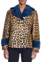 Simonetta Ravizza Animal-Print Fur Coat