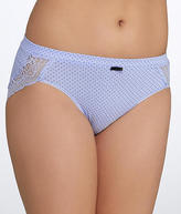 Bali Cotton Desire Lace Hipster Panty - Women's