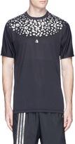 Adidas X Kolor 'Beast Chill' leopard print performance T-shirt