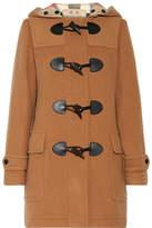 Burberry Wool-blend Duffle Coat - Camel