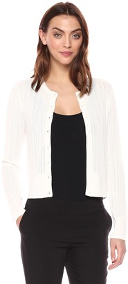 Theory Women's LACE Button Front Cardigan