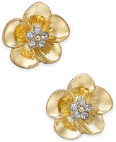 Vera Bradley Gold-Tone Petals Stud Earrings