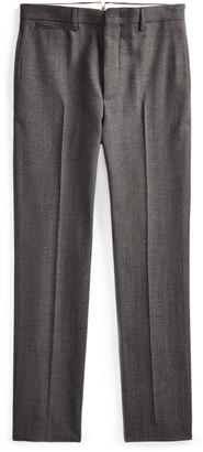 Ralph Lauren Slim Wool Herringbone Trouser