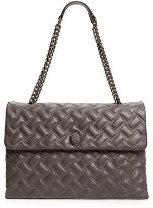 Kurt Geiger Extra Extra Large Kensington Drench Leather Bag