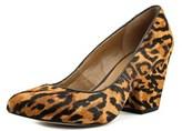 Aldo Ocirewen Women Pointed Toe Suede Brown Heels.