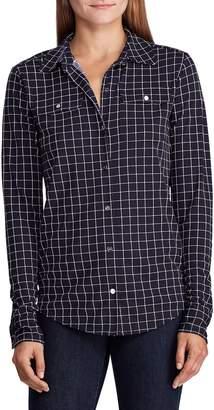 Lauren Ralph Lauren Button-Down Check-Print Shirt