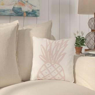 "Salton Bay Isle Home Pinky Pine Outdoor Throw Pillow Bay Isle Home Size: 16"" x 16"""