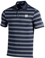 Under Armour Men's Notre Dame Fighting Irish Striped Performance Polo