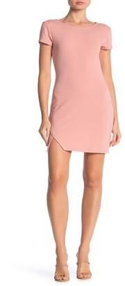 Wild Honey Short Sleeve Ponte Dress