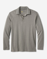 Eddie Bauer Men's Voyager II Performance Long-Sleeve Polo Shirt - Solid