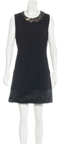 Barbara Bui Embellished Shift Dress