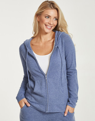 Figleaves Bliss Cashmere Zip Hoody