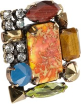 Iosselliani Multi-Stone Extra-Large Cocktail Ring
