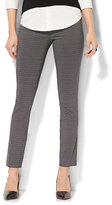 New York & Co. 7th Avenue Pant - Legging - Pull-On - Linear Dot Print
