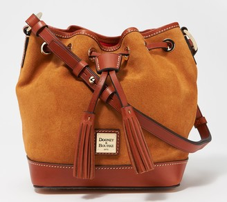 Dooney & Bourke Suede Small Drawstring Bag