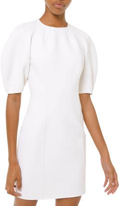 Michael Kors Dolman-Sleeve Crepe Sheath Dress
