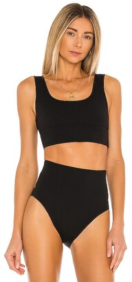 It's Now Cool Contour Crop Bikini Top