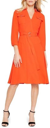 Damsel in a Dress Ennis Sleeved Relaxed Trench Dress