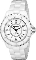 Chanel Women's H0970 J12 Ceramic Bracelet Watch