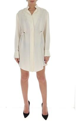 Off-White Polka Dot Dress