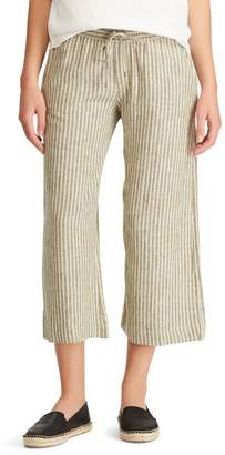 Chaps Straight-Fit Cropped Pants