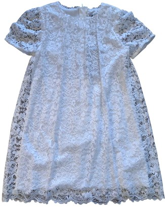 Dolce & Gabbana White Viscose Dresses
