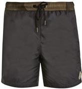 Moncler Camouflage waistband swim shorts
