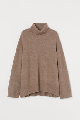 H&M Wool-blend Turtleneck Sweater