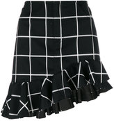 Marques Almeida Marques'almeida windowpane check skirt