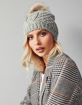 Vero Moda Cable Knitted Wool Hat