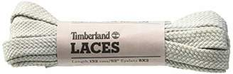 Timberland Unisex's Flat Polyester Laces 52-inch Shoe (Silver Grey)